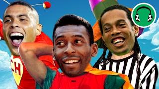 ♫ MAMONAS ASSASSINAS | Pelados em Santos - Só com nomes de jogadores