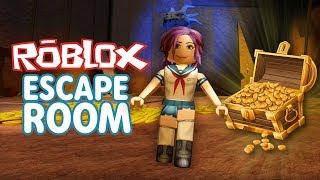 TREASURE ESCAPE! - Roblox Escape Room