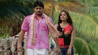South actress flirts with Prashanth   Jambhavan
