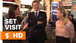 Bridget Jones's Baby Exclusive Set Visit (2016) - Colin Firth, Renée Zellweger Movie HD