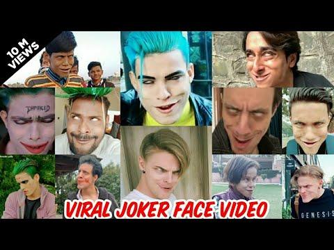 Famous Viral Joker TikTok Joker Face Indian Joker vs china joker vs Usa Joker lai lai lai RIZXTAR