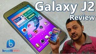 Galaxy J2 - O Smartphone Bom, Bonito e Barato! - Review (Análise Completa em Português)
