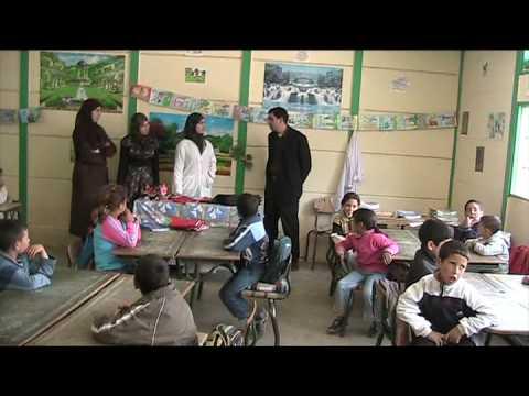 Elèves de l école primaire à Benmalloul Midar Maroc