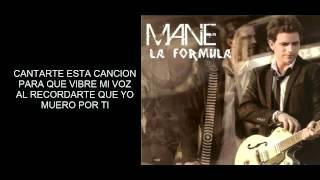 Mane De La Parra - La formula Letra