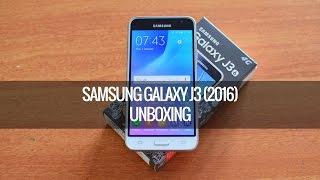 Samsung Galaxy J3 (2016) Unboxing