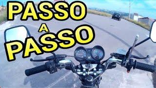 Aprenda andar de moto passo a passo #Aula 1/Conhecendo a moto-Jeferson 108