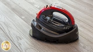 Panasonic 360 Freestyle Cordless Iron   Shabby Fabrics Notions Video