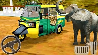 Offroad Tourist Tuk Tuk - Racing Taxi Auto Rickshaw - Android GamePlay