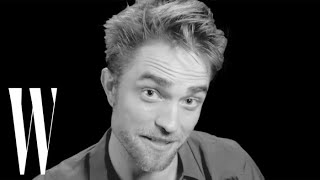 Robert Pattinson Tells the Story of His First Kiss | Screen Tests | W magazine