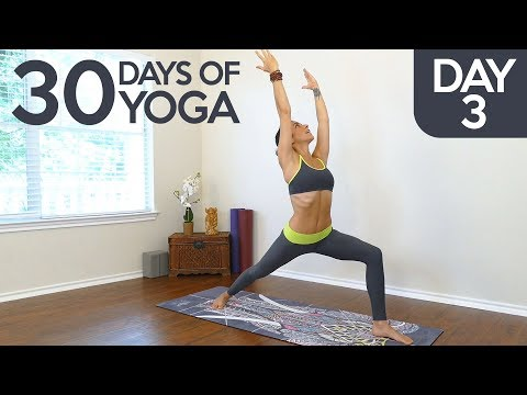 Xxx Mp4 Yoga Essentials With Jess Day 3 Of 30 Learning Warrior Poses Complete Beginners Yoga Class 3gp Sex