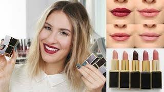 TOM FORD LIPSTICK REVIEW - Are They Worth The Hype?! | JamiePaigeBeauty