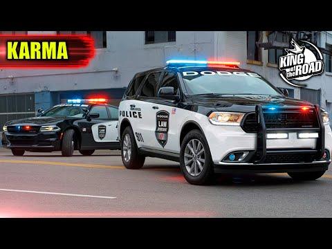 Best Instant karma. Unmarked Police. Instant Justice. Convenient cop NEW