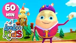 Humpty Dumpty - THE BEST Nursery Rhymes for Children | LooLoo Kids