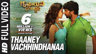 Thaaney Vachhindhanaa Video Song - Krishnarjuna Yuddham Video songs | Nani, Rukshar | Hiphop Tamizha