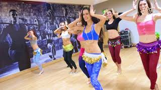 Never enough drum solo for us! Belly Dance to Emad Sayyah by Fleur Estelle Dance Company