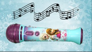 Frozen Magical MP3 Microphone from eKids