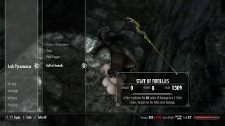 SHORT SKYRIM REMASTERED GOING IN THE WOODS NUDE MOD!