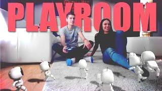 PLAYSTATION PLAYROOM! w/Lucy