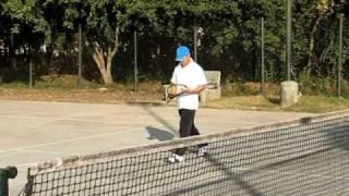 Aamir Khan and Madhavan playing tennis at IIM Bangalore