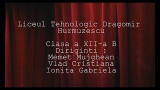 Video curs festiv promotia 2012-2016 clasa a XII-a B Liceul Tehnologic Dragomir Hurmuzescu