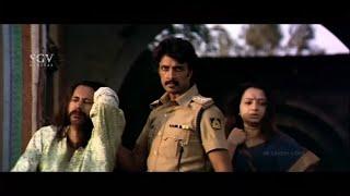 Sudeep Released Police wife from Babjee House | Doddanna | Devaraj | Veera Madakari Kannada Movie