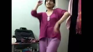 Girl dance Hindi 2016 funny WhatsApp