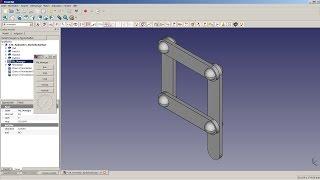 FreeCAD Tutorial 30 - Animation Kurbelschwinge