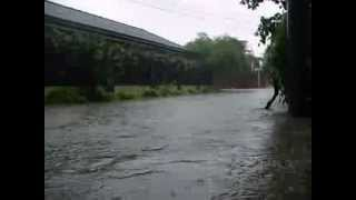 Part 1 FLOODING IN TAGUIG CITY 08/20/2013