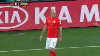 Holland Vs Argentina 2014 Semi-Final FULL MATCH 3