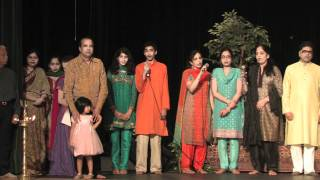 Suresh Wadkar's Ajivasan Music Academy (USA) Annual Recital 2011 : Saraswati Vandana