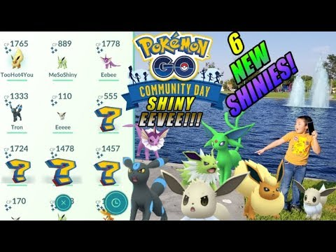 Xxx Mp4 THE HARDEST POKEMON GO COMMUNITY DAY EVENT EVER 6 NEW EEVEE SHINIES TO HUNT CAN WE CATCH EM ALL 3gp Sex