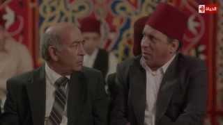 مسلسل حارة اليهود - السياسة تدخل أي مكان   أنت جاي تعزي ولا جاي تتكلم في السياسة ؟