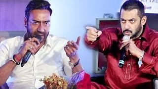Salman Khan Vs Ajay Devgn To BIG CLASH In 2018