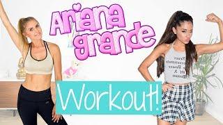 Ariana Grande  Workout | Rebecca Louise