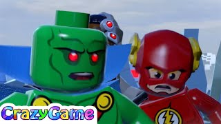 #LEGO #Batman 3 Complete Walkthrough #15 Breaking the Ice (4K)