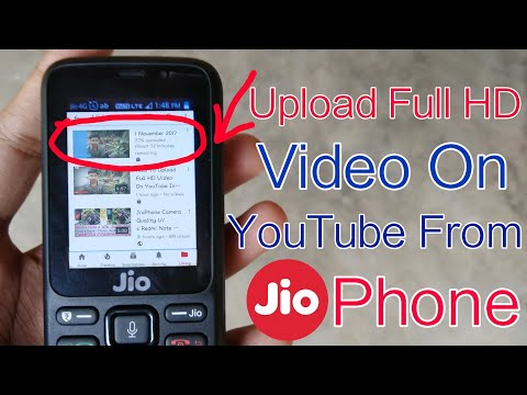 Xxx Mp4 How To Upload Full HD Video On YouTube In JioPhone Upload Big Video On JioPhone In Hindi 3gp Sex