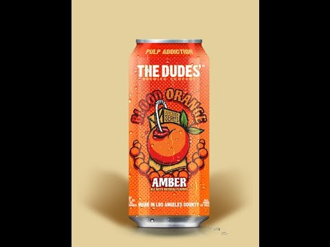 thebroodood - The Dudes' Brewing Company - Blood Orange Amber Ale - Beer Reviews