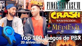 Top 100 juegos de PSX   20 Aniversario