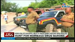 Three suspected drug dealers flee country from Likoni
