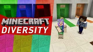 aMAZING MAP! - Minecraft Diversity w/ Stacy Ep1