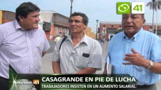 Trabajadores de Casa Grande anuncian huelga - Trujillo