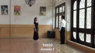 Tango - Thiếu nhi 1 - Bài thi đấu Quy định