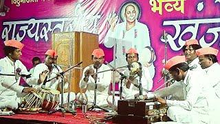 Best कव्वाली Performance of Qawwali by Surendra Dongare Hinganghat मंडळ  at Gadegaon Bhajan Spardha