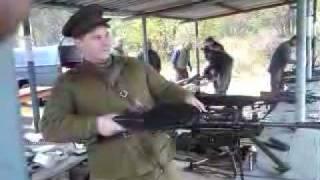 WW2 Machine Gun  DP 27 Dektarev Full auto firing ...