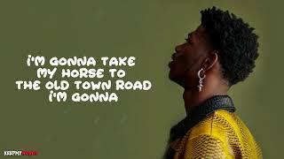 Lil Nas X Ft. Billy Ray Cyrus - Old Town Road ( Lyrics Video )