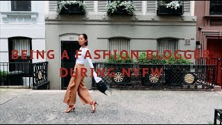 What It's Really Like to be a Fashion Blogger - New York Fashion Week | Aimee Song