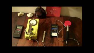 Three Geiger Counters Compared