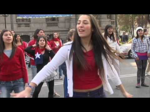 Xxx Mp4 Chile Mobs Dance Flashmob Waka Waka Santiago De Chile 3gp Sex