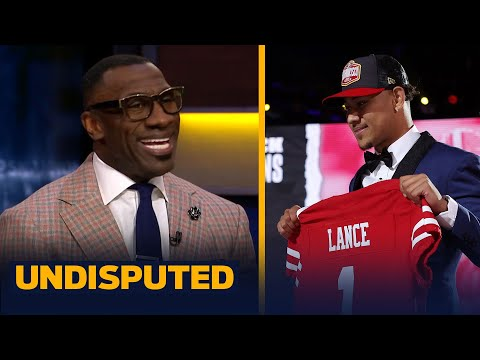 49ers drafting Trey Lance is better than Mac Jones to Patriots — Shannon Sharpe NFL UNDISPUTED