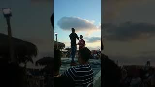 اسمع اغنية بداري الاه بشكل تاني بصوت حسن شاكوش و جزء من اغنية سلامة النية - لايف 2017